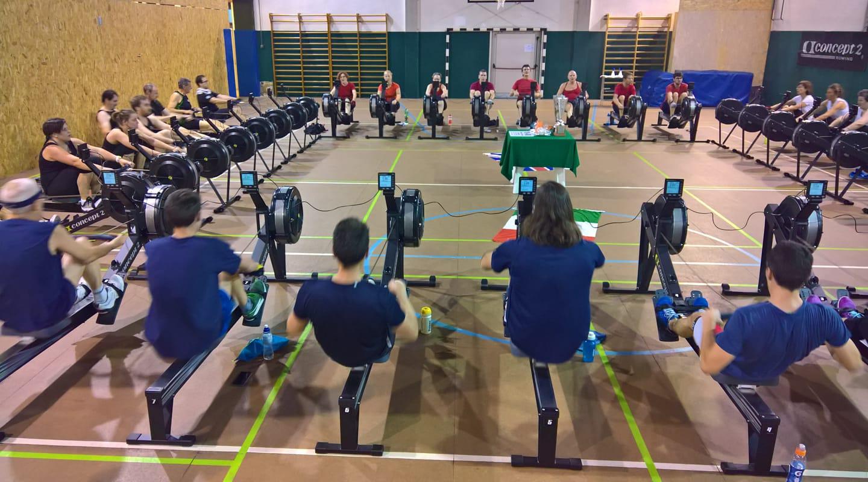Team Prosport Indoor Rowing in gara